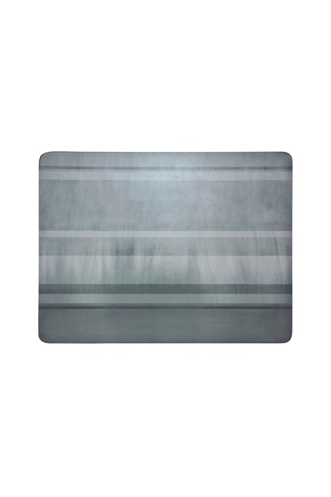 Colours 6-Piece Placemat Set - Grey - grey