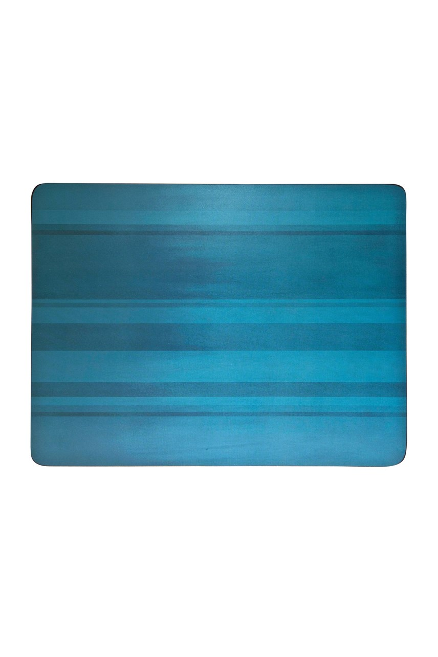 Colours 6-Piece Placemat Set - Turquoise