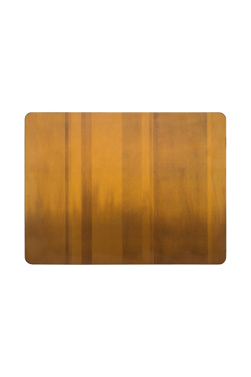 Colours 6-Piece Placemat Set - Mustard