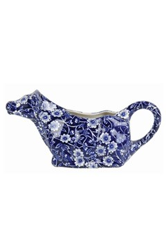 'Blue Calico' Cow Creamer BLUE 1
