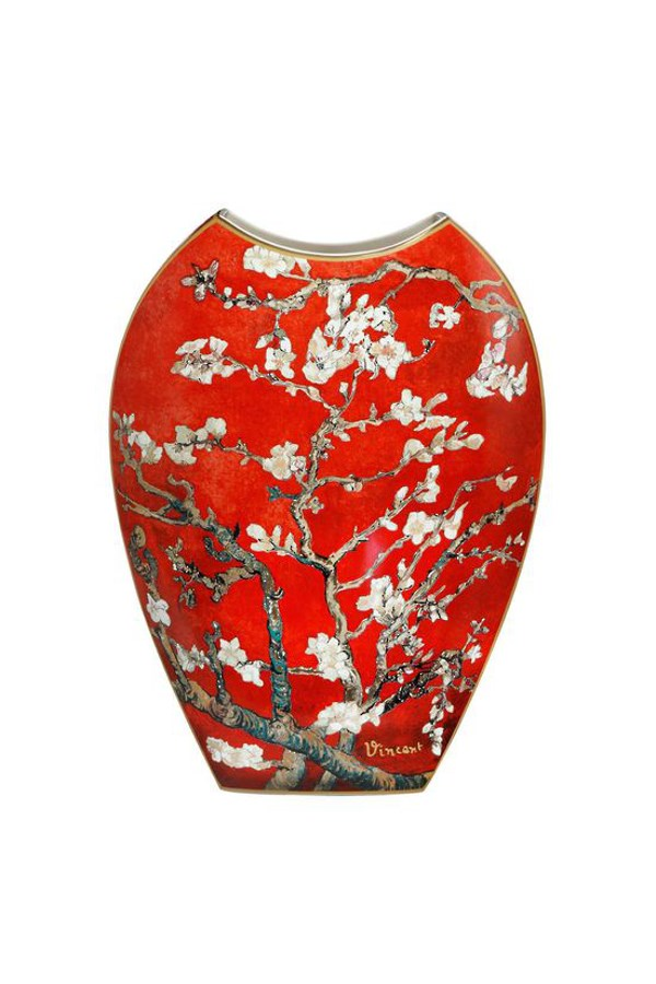Gobel Van Gogh Red Almond Tree Vase - 45cm