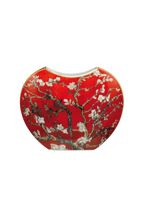 Gobel Van Gogh Red Almond Tree Vase - 20cm