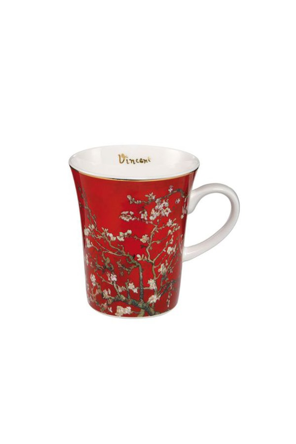 Gobel Van Gogh Red Almond Tree Mug - 400mL