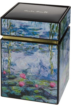 Monet Waterlilies Tin 1