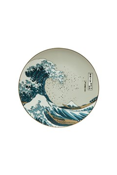 Hokusai Wave Wall Plate 1