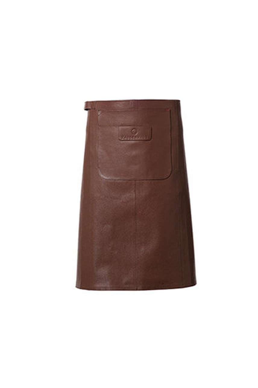 Leather Half/Waiter Apron - Brown
