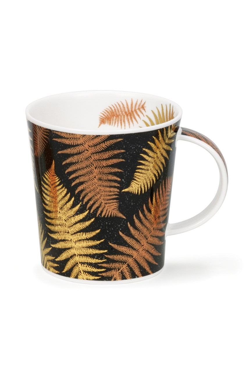 Lomond Ferns Black Mug