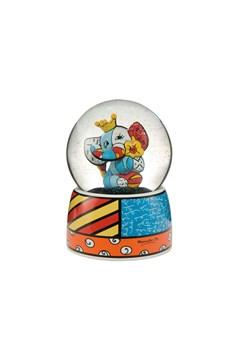 Britto Pop Art Spring Elephant Globe 1