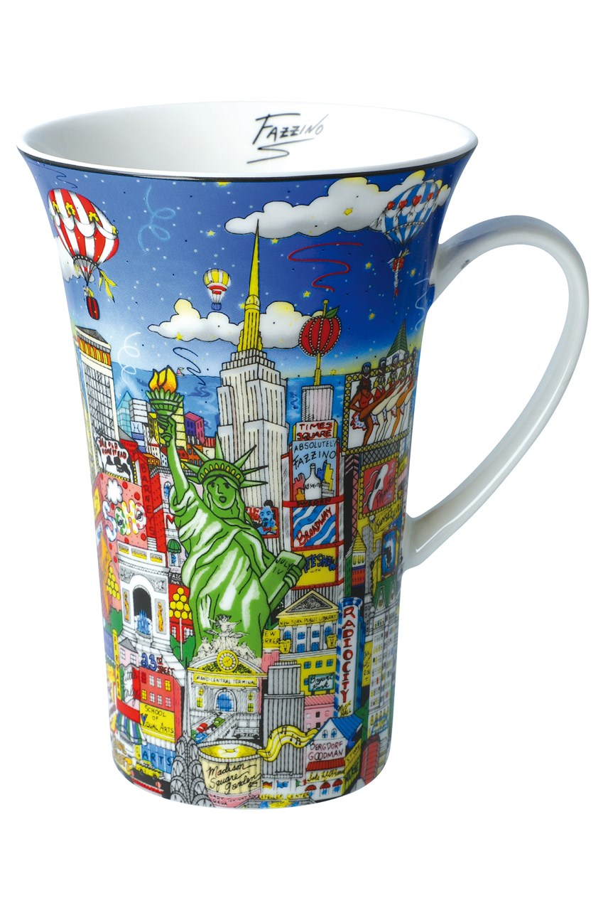 Fazzino Mug New York