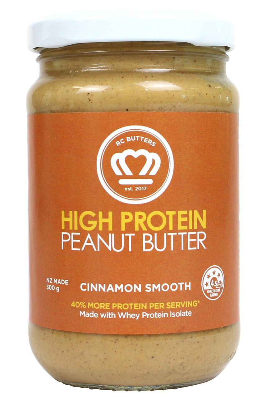 Cinnamon Smooth High Protein Peanut Butter