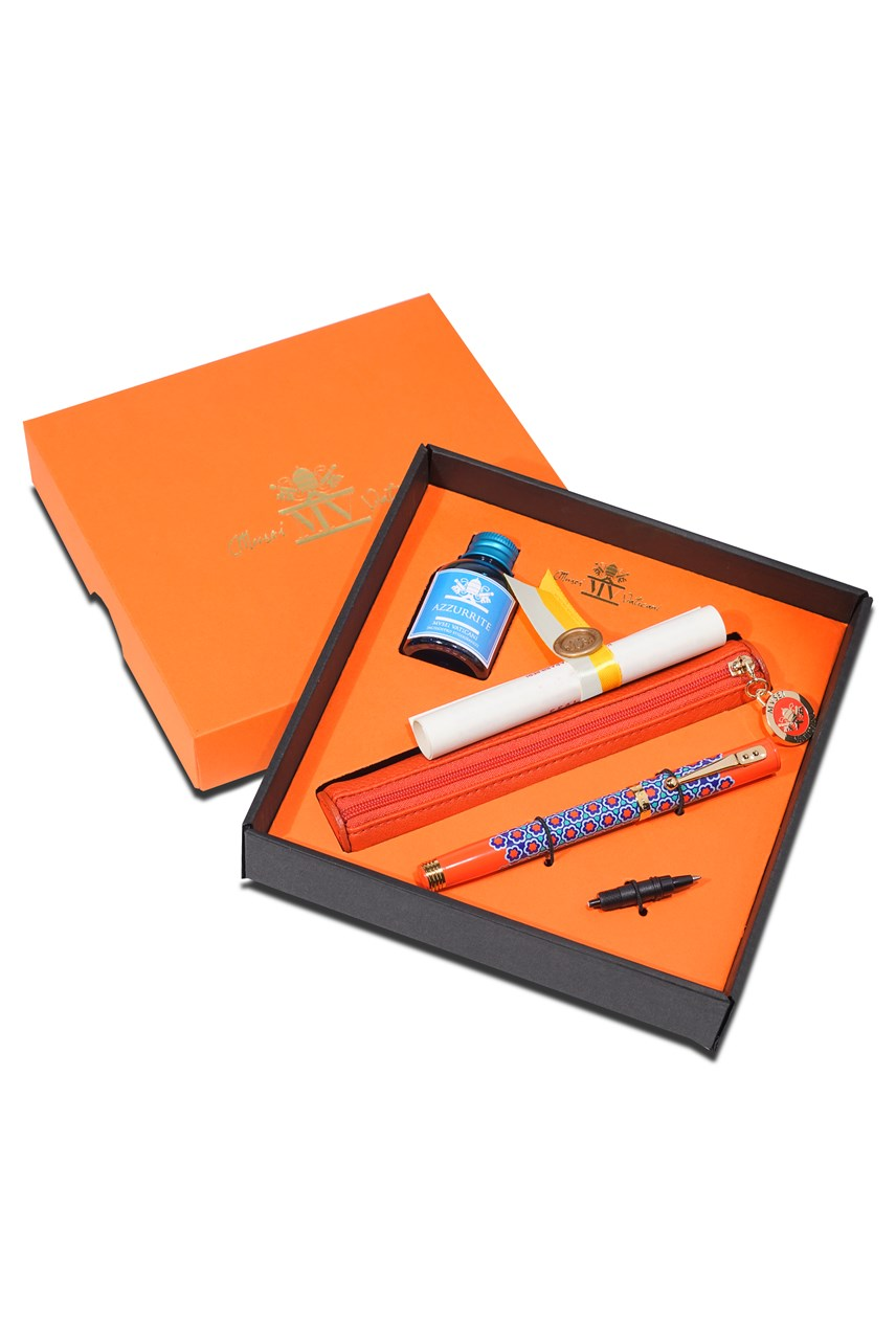 Dc Fountain Pen Set - Orange
