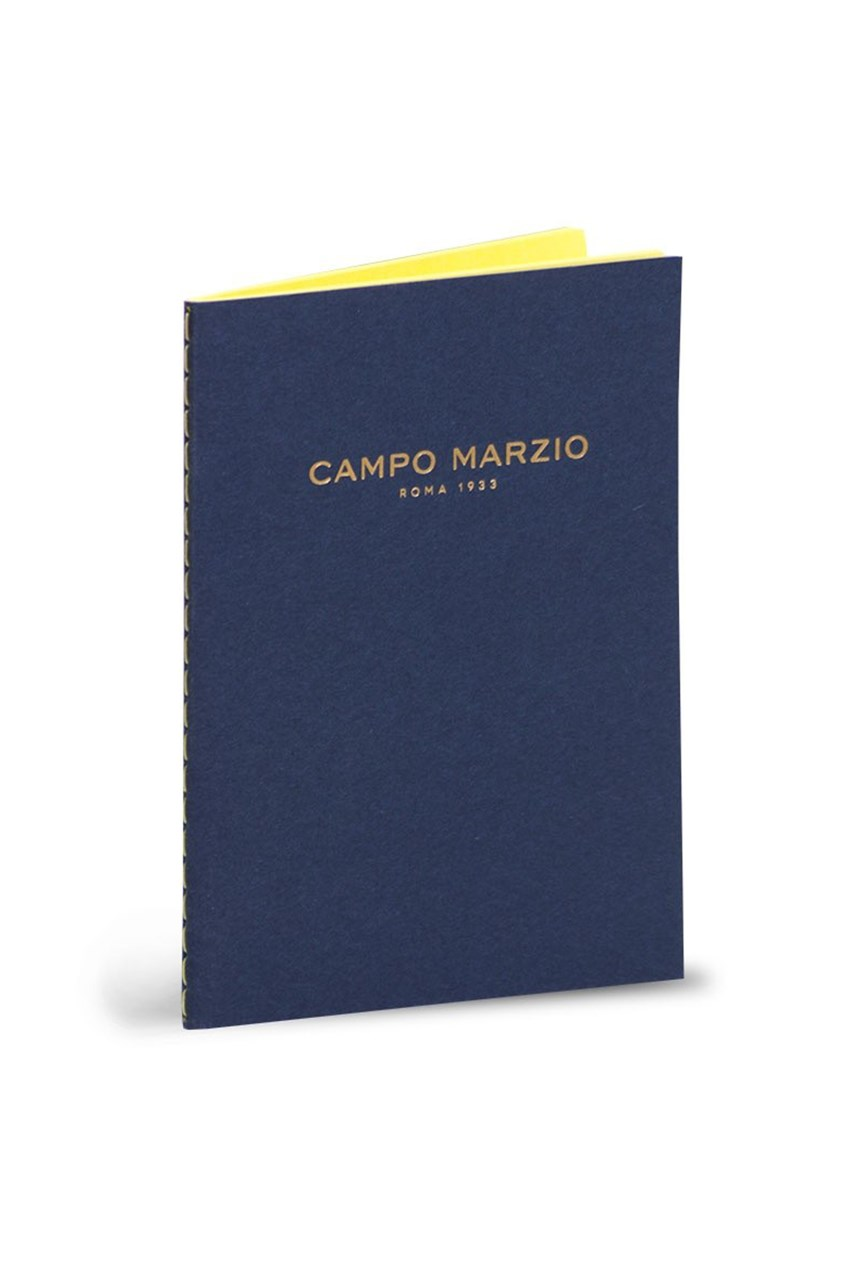 Small Campo Marzio Book - Blue