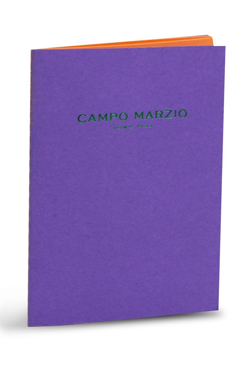 Medium Campo Marzio Book - Purple
