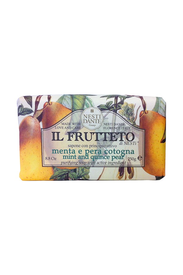 Il Frutteto Fruit Soap - Mint & Quince Pear