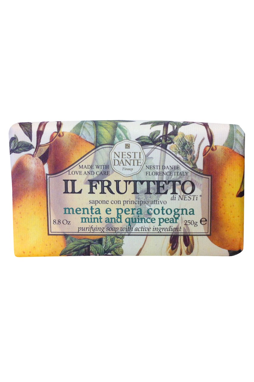 Frutteto Soap - Mint & Quince Pear