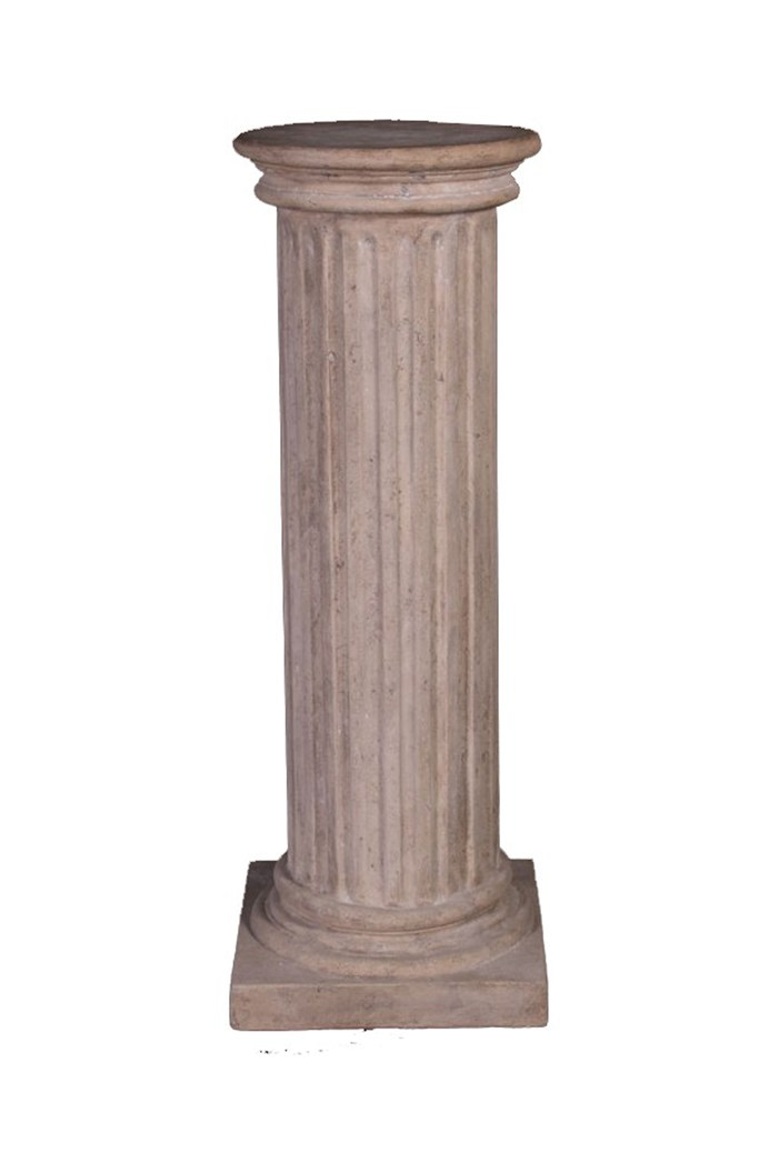 Fluted Column with Round Top