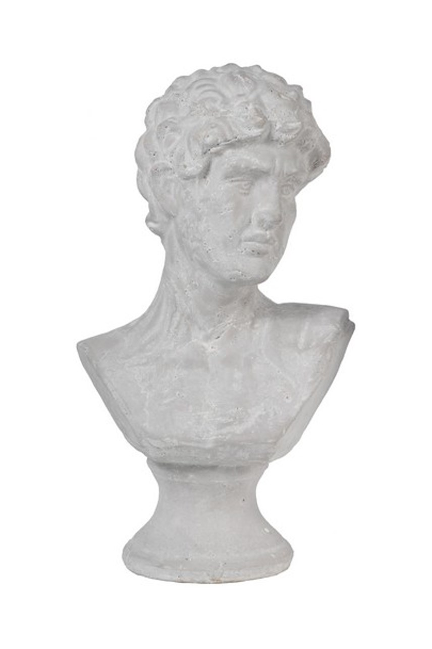 Ceramic Male Bust - Large