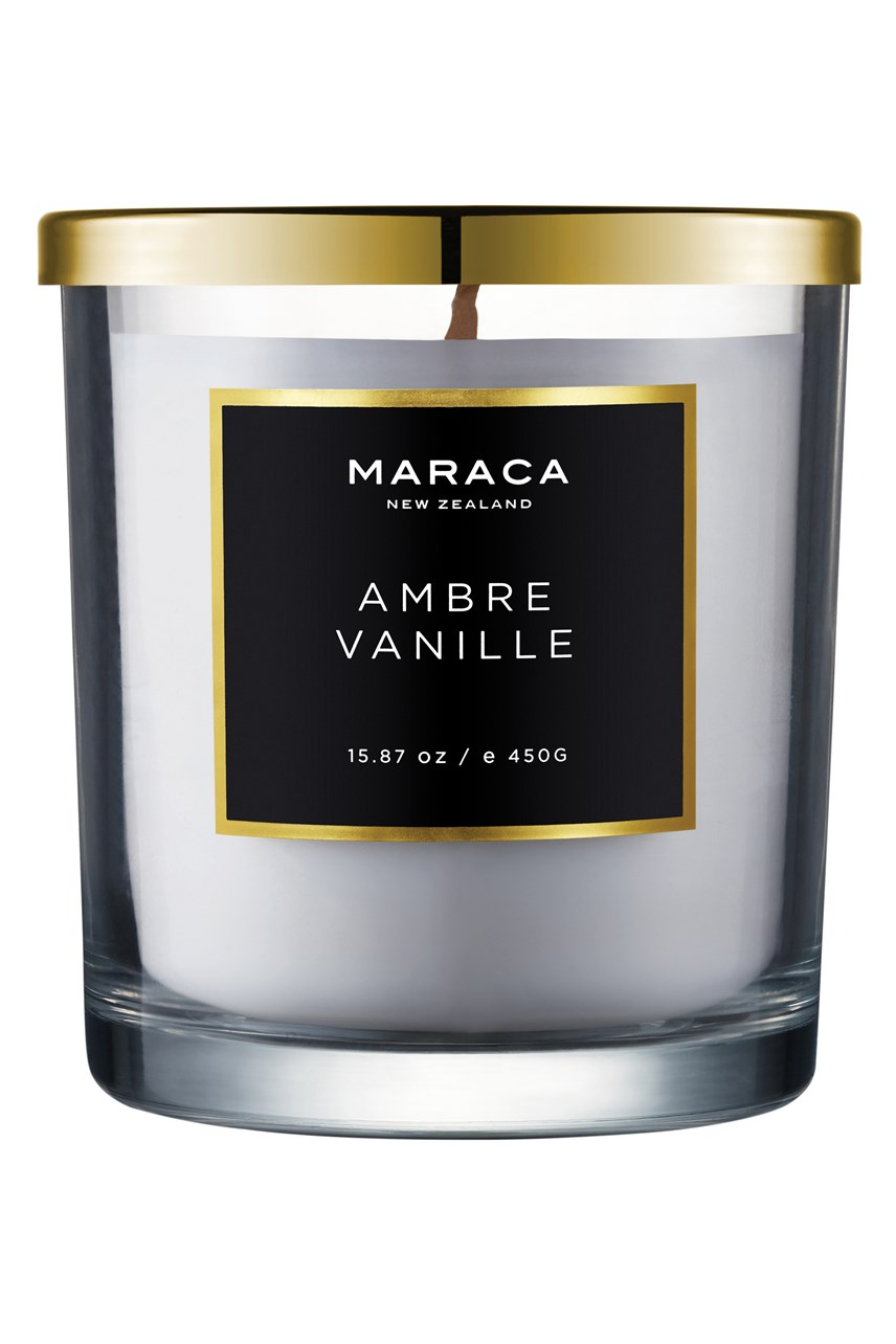 Ambre Vanille Luxury Scented Candle - 450g