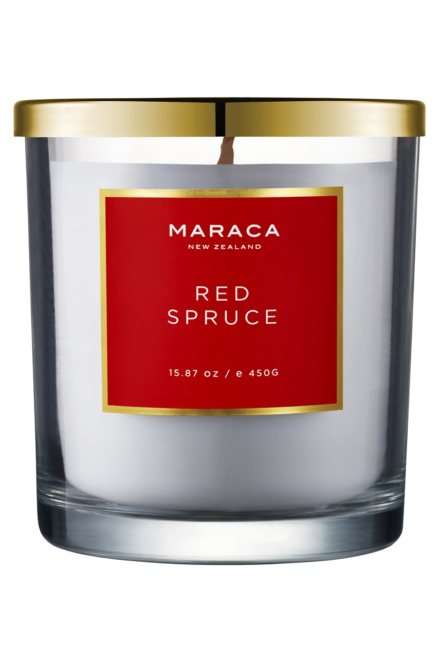 Red Spruce Limited Edition Luxury Scented Candle - 450g