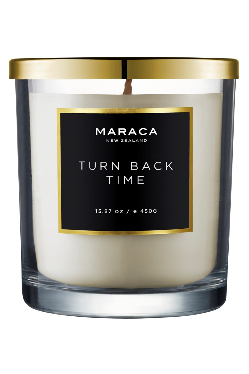 Turn Back Time Luxury Scented Candle - 450g
