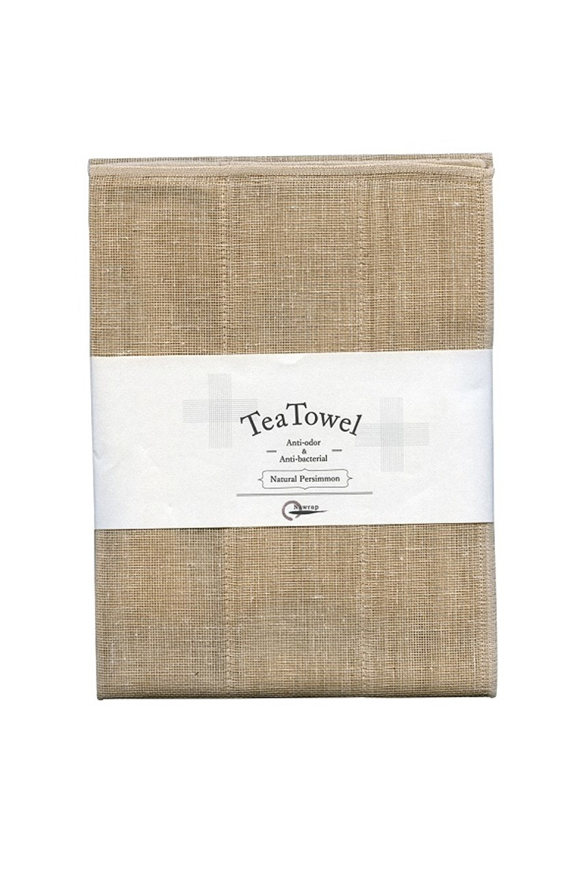 Natural Persimmon Tea Towel