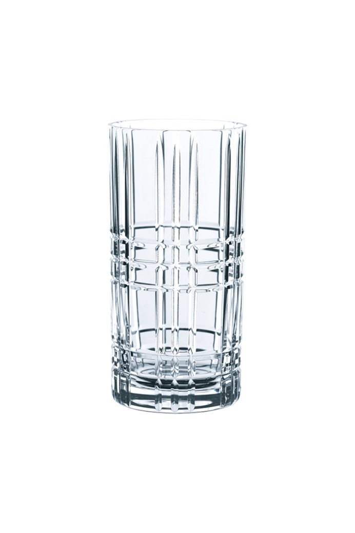 Square Long Drink Tumbler Set