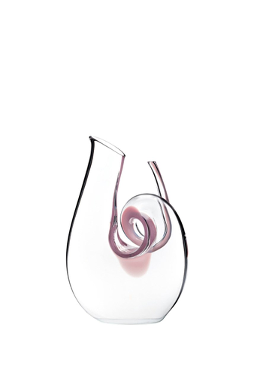 Curly Mini Pink Decanter