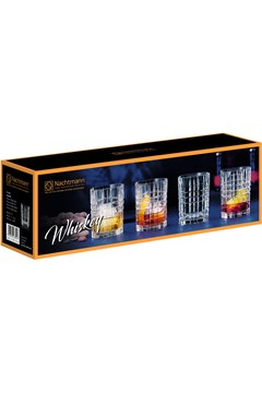 Square Whisky Set of 4 -