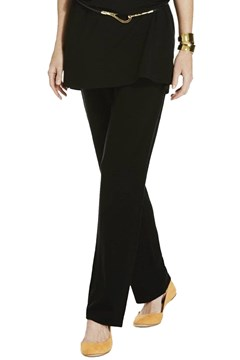 Slim Slouch Pant BLACK 1