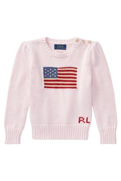 American Flag Sweater PINK 1