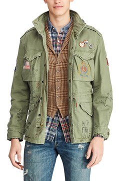Twill Field Jacket ARMY OLIVE 1