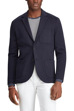 Double Knit Blazer AVIATOR NAVY 1