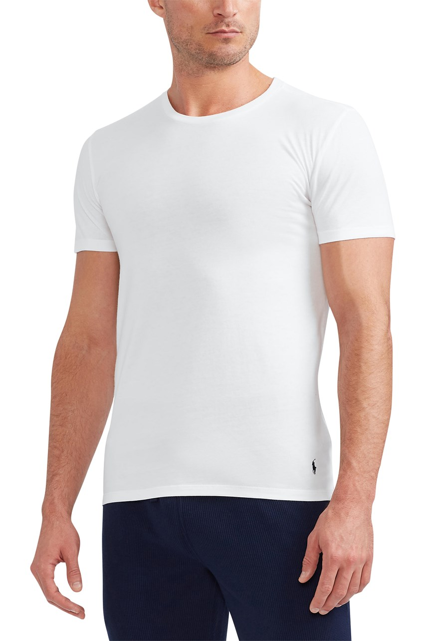 Crew Neck Undershirt 3-Pack