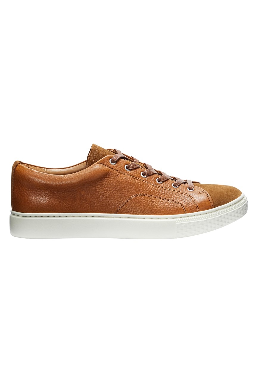 Dunovin II Tumbled Suede & Leather Sneaker
