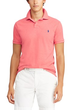 Custom Slim Fit Mesh Polo D61 1