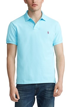 Custom Slim Fit Mesh Polo E77 1