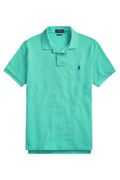 Custom Slim Fit Mesh Polo - f07