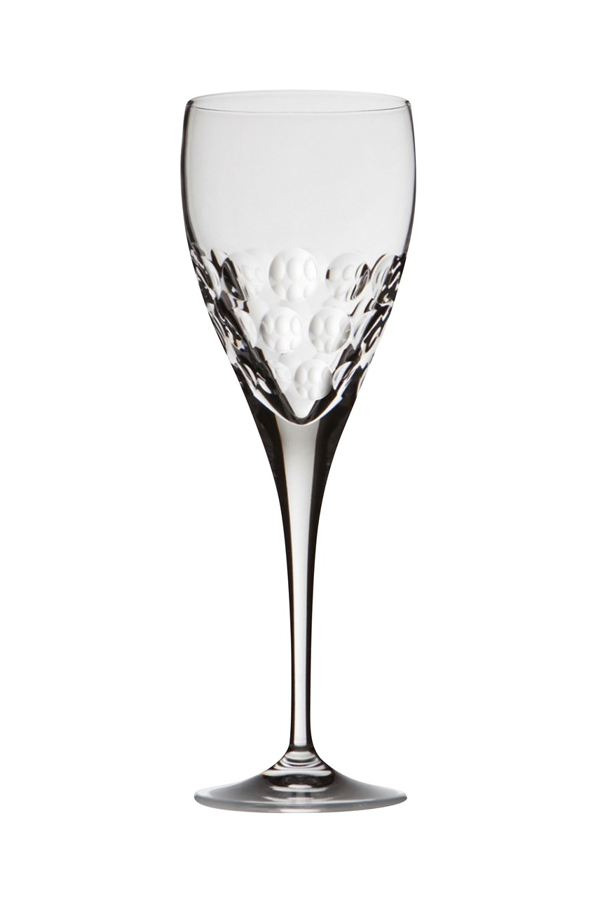 Bubble Red Wine Glass Pair