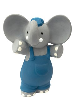 Alvin The Elephant All Natural Rubber Squeaker -