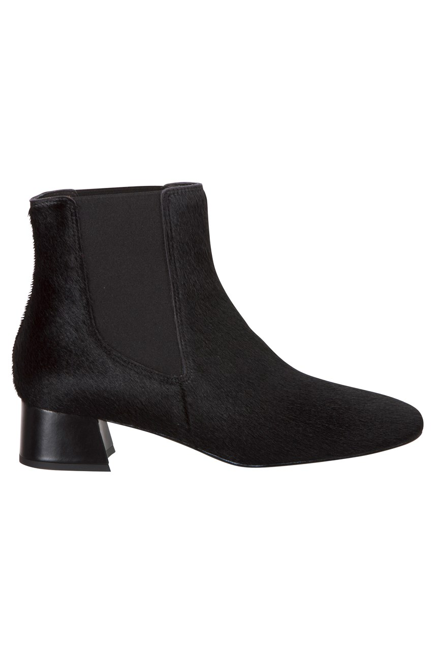 Shailene Black Pony Boot
