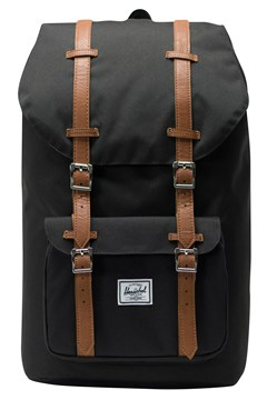 Little America Classic Backpack BLACK/TAN 1
