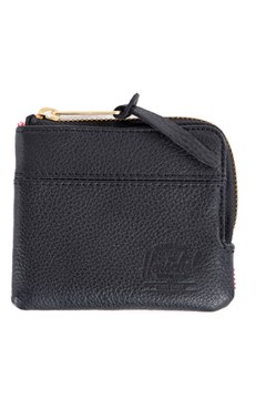 Johnny Leather Wallet BLACK 1