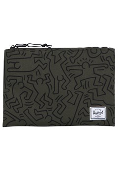 Network Large Pouch  Keith Haring Collection FOREST NIGHT 1