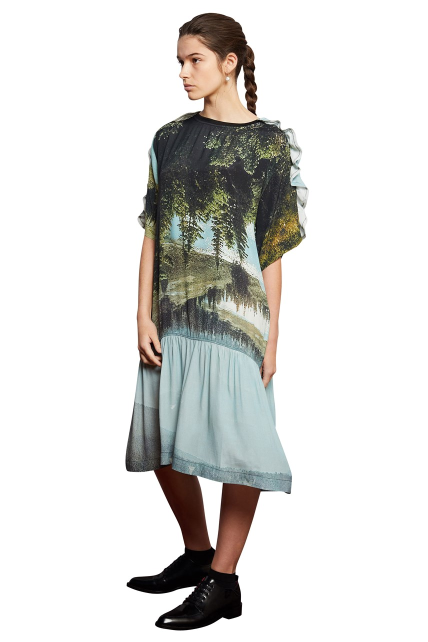 Dreamscape Tee Dress