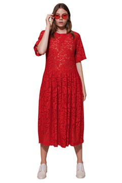 Patience Dress RED LACE 1