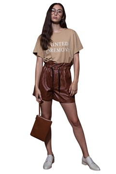 Painted Ceremony T-Shirt BEIGE 1