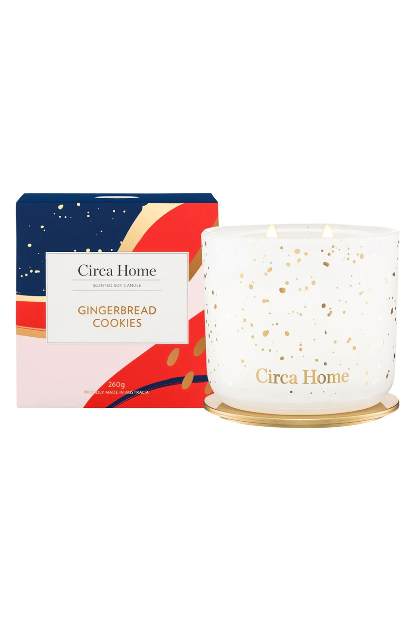 Limited Edition Gingerbread Cookies Candle - 260g