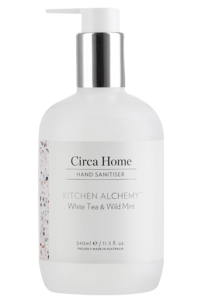 White Tea & Wild Mint Kitchen Hand Sanitiser - 340mL