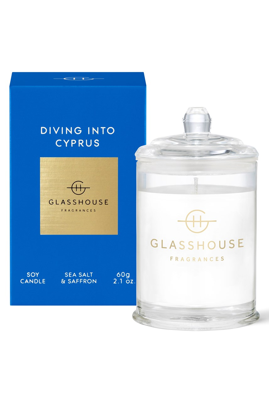 Diving Into Cyprus Candle - 60g