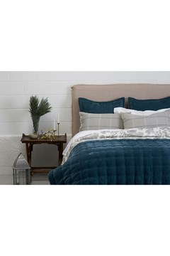 Pin Velvet Atlantic Euro Pillowcase ATLANTIC 1
